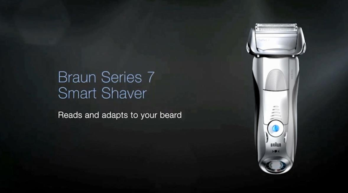 Braun Series 7 7899cc Electric Shaver In Silver Bed Bath