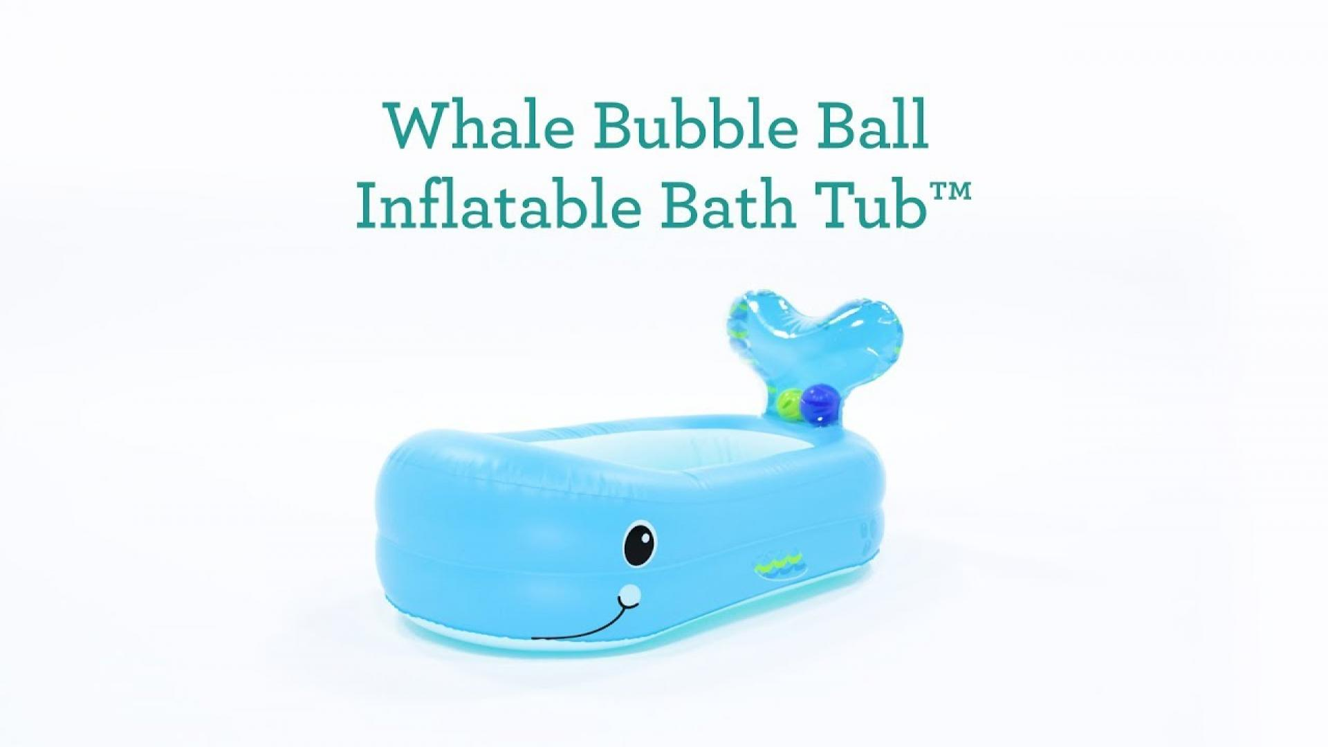 Bed Bath & Beyond TV - Watch: Whale Bubble Ball Inflatable Bath Tub™