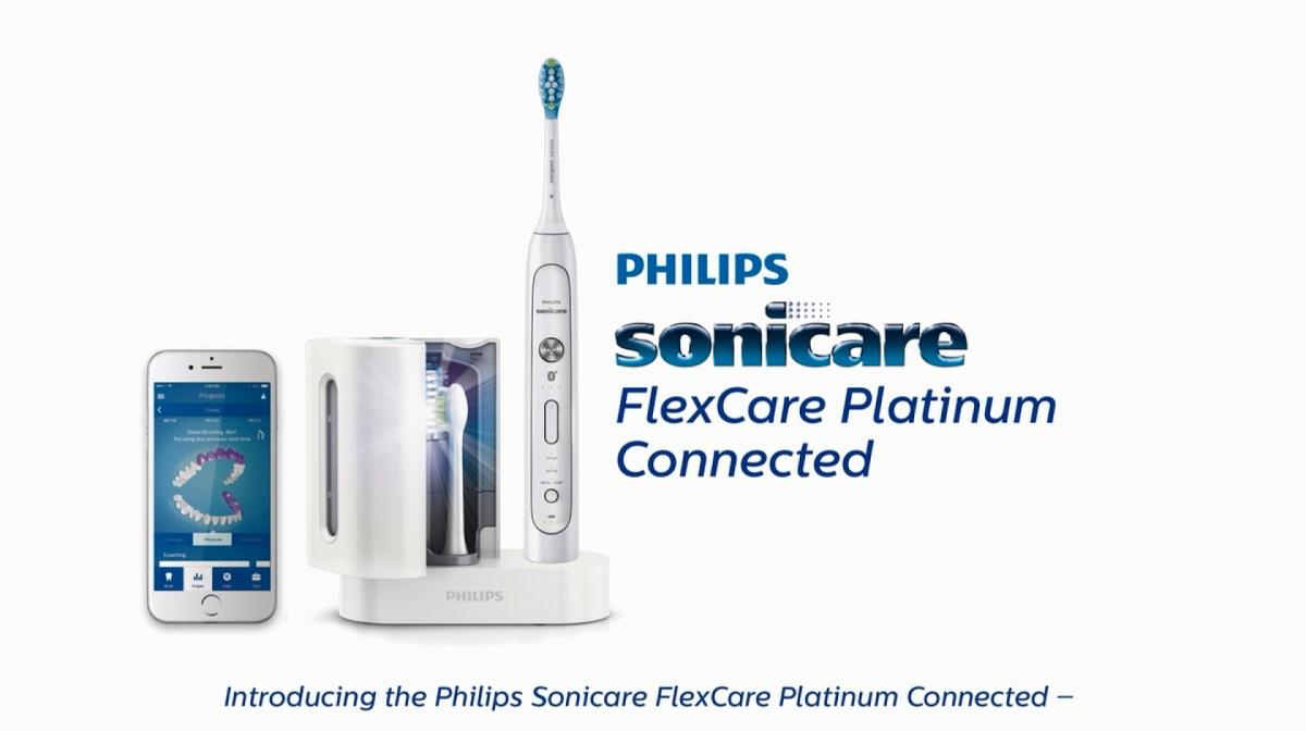 Phillips Sonicare Flexcare Platinum Connected Electric Toothbrush