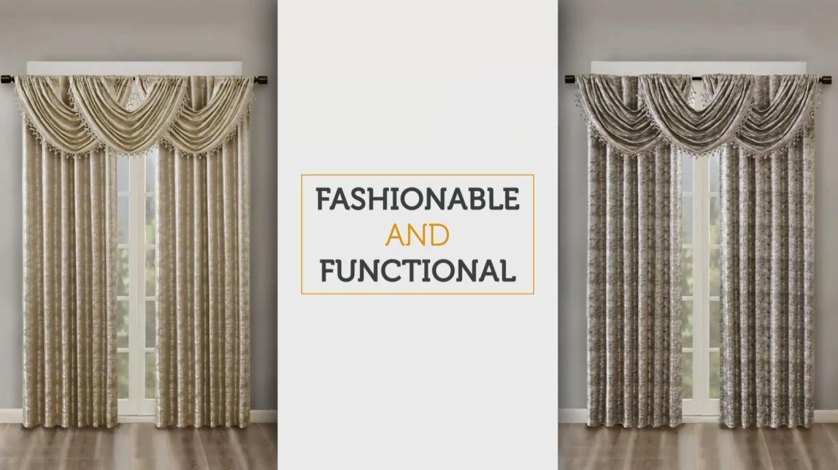curtain versatile tape pleats on three top of rods pinned wonderfull channels curtains the plates american is and are form knitted heading panel to