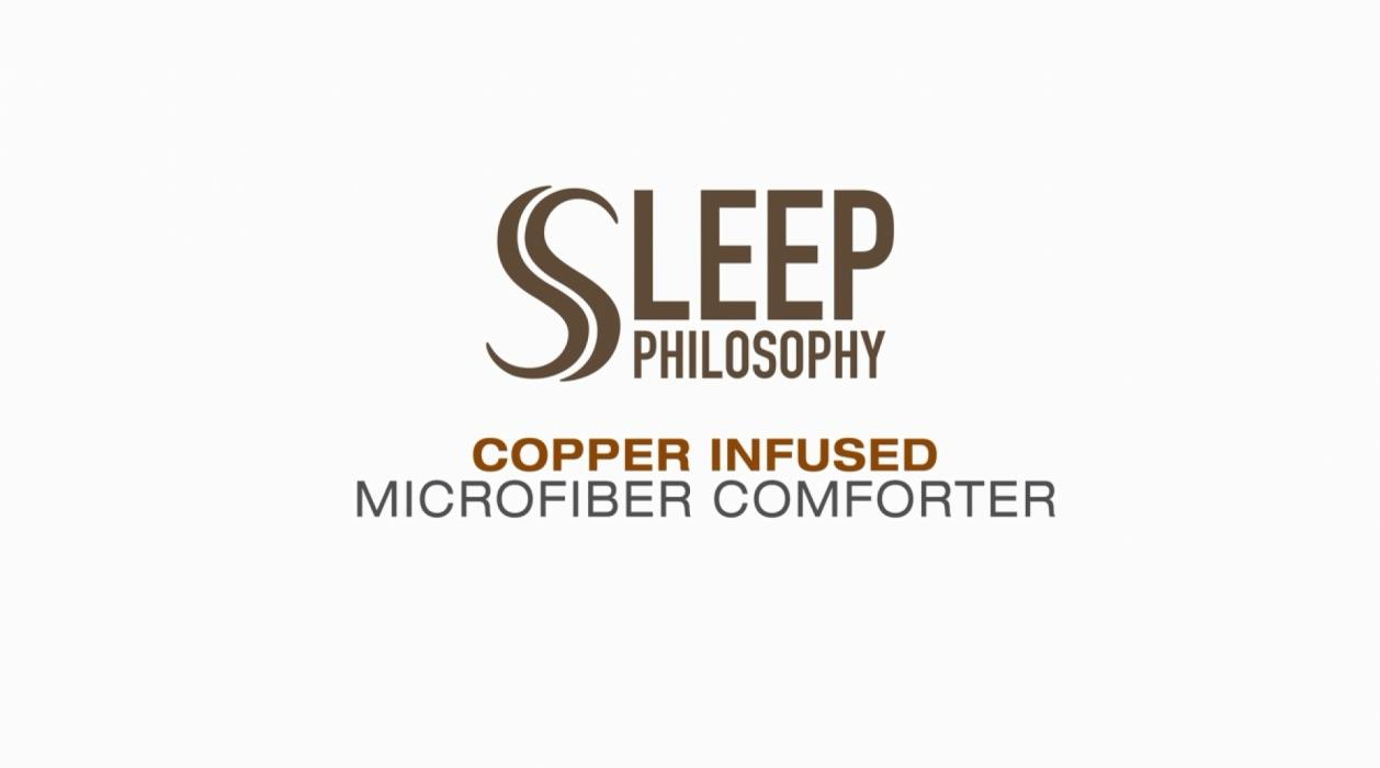 Sleep Philosophy Copper-Infused Comforter