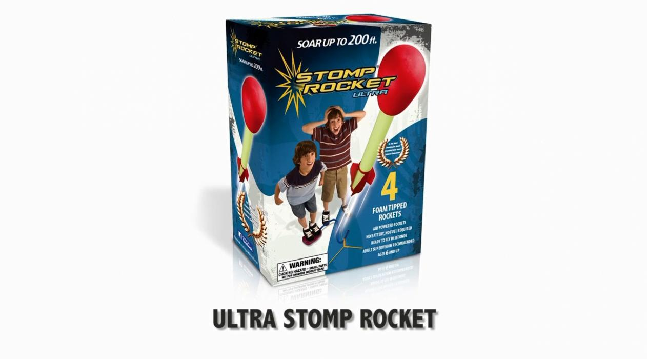 Ultra Stomp Rocket Kit and Party Pack
