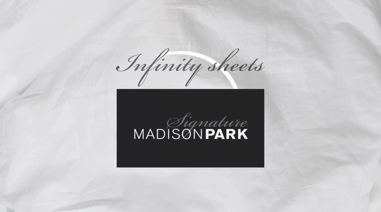 Madison Park Signature 600-Thread-Count Infinity Cotton Sheet Set