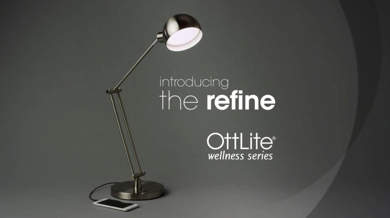 Ottlite Refine LED Desk Lamp
