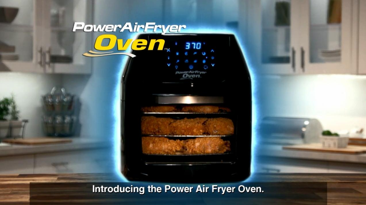 6 Quart Power Air Fryer Oven In Black Bed Bath Amp Beyond