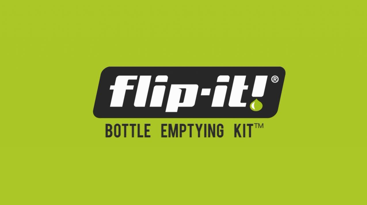 Flip-It! Bottle Emptying Kit