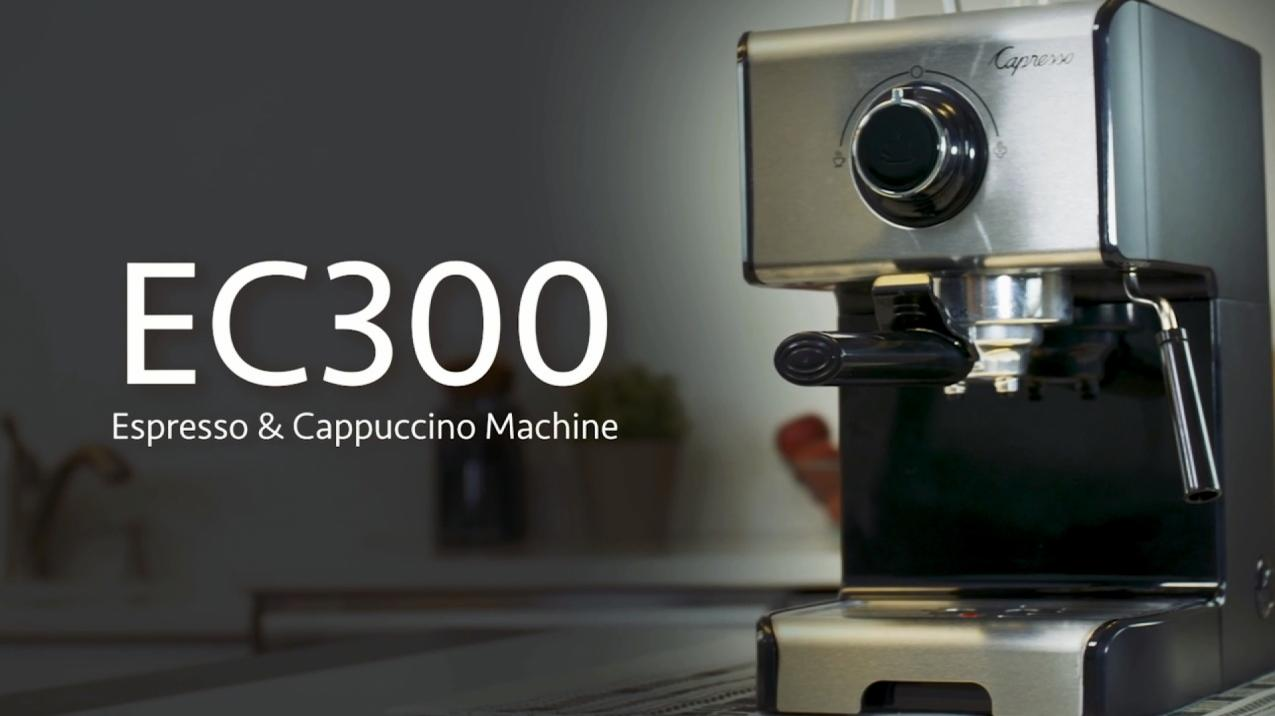 Capresso EC300 Espresso and Cappuccino Machine