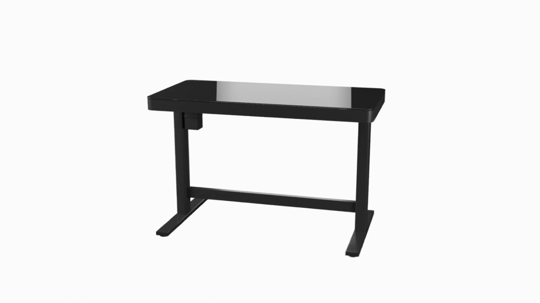 Height Desk In Black