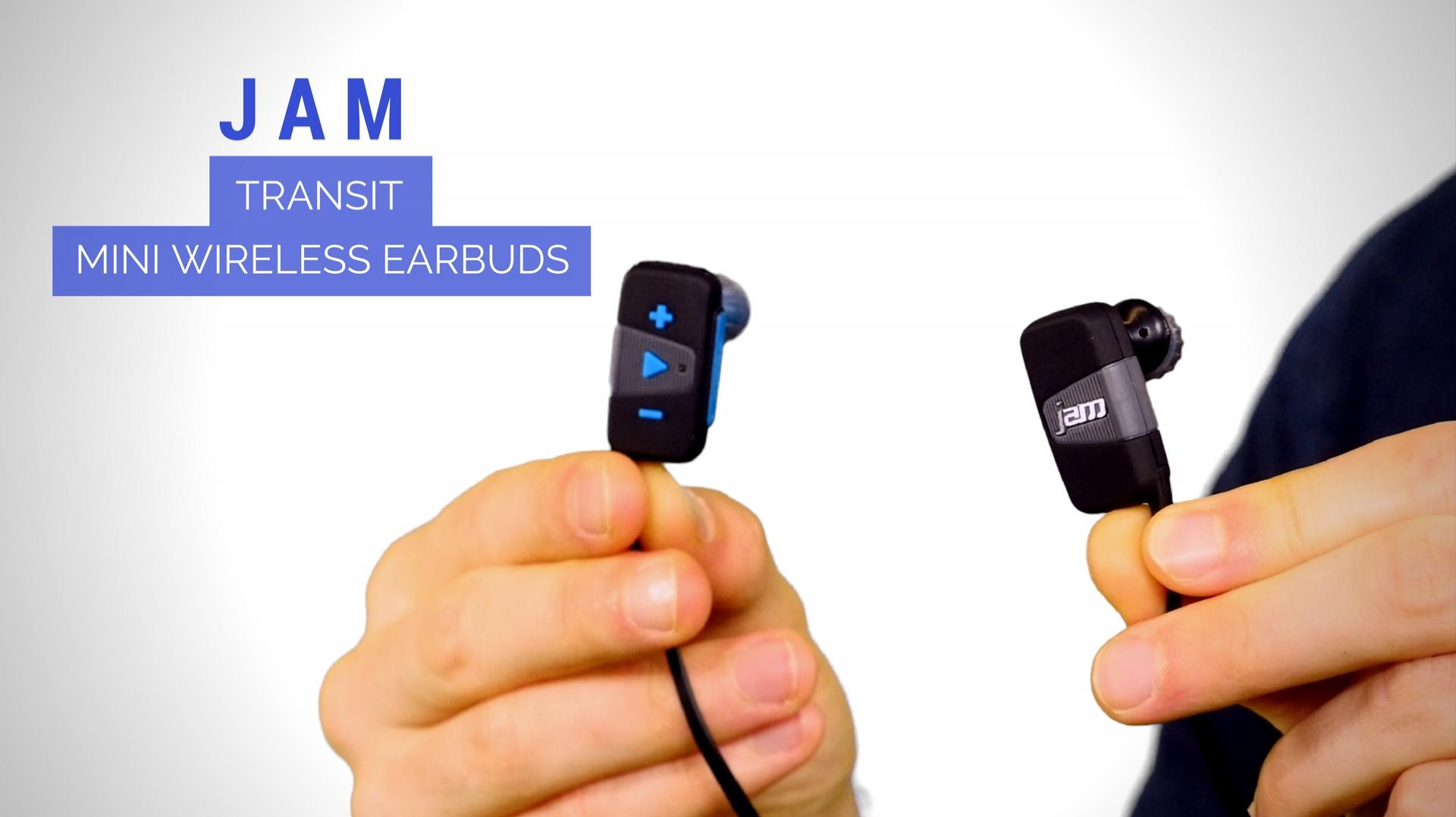 JAM Transit Mini Bluetooth Wireless Earbuds