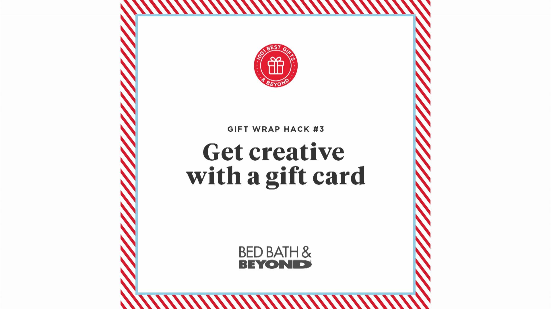 Get Creative with a Gift Card