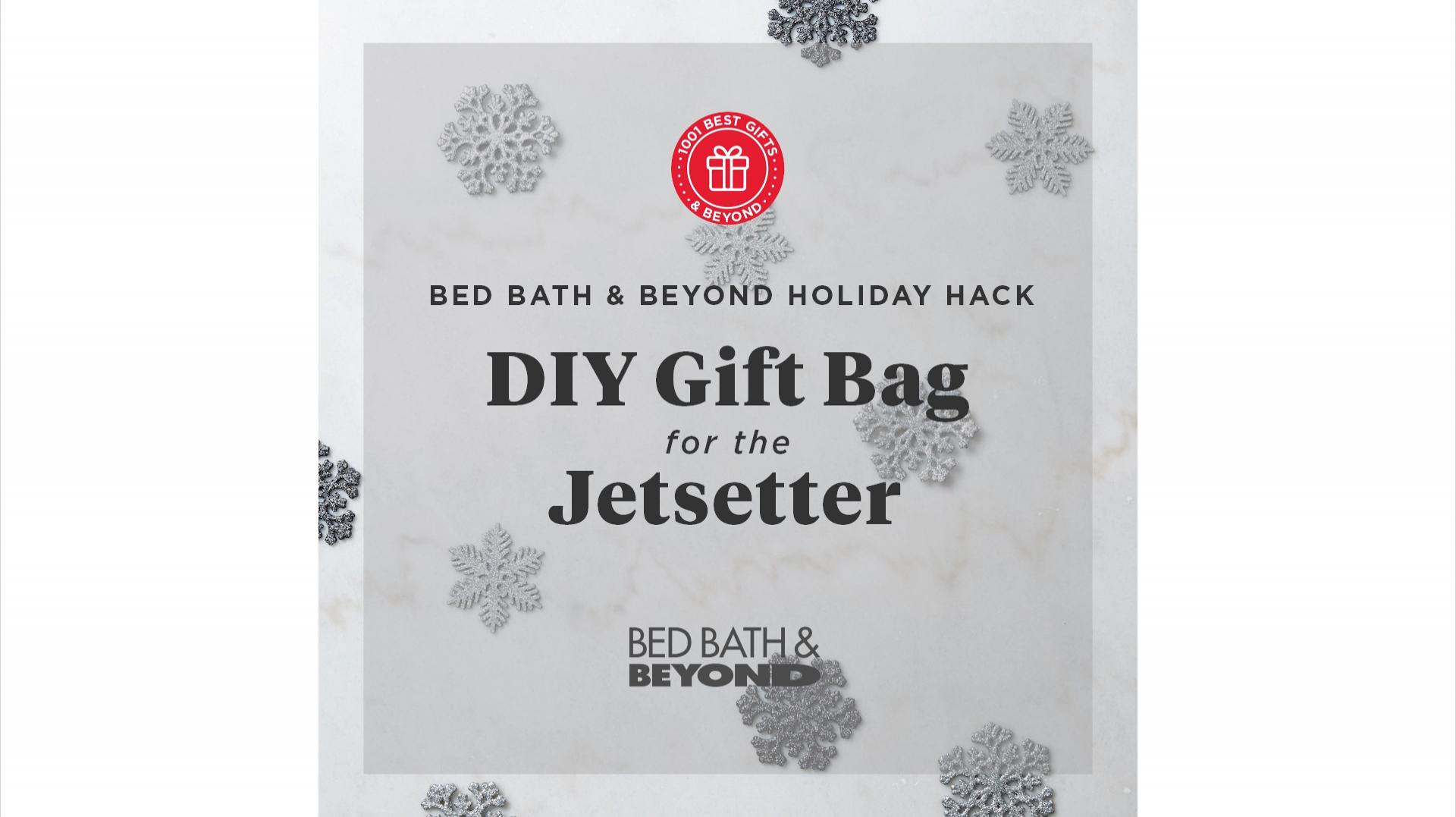 DIY Gift Bag for the Jetsetter