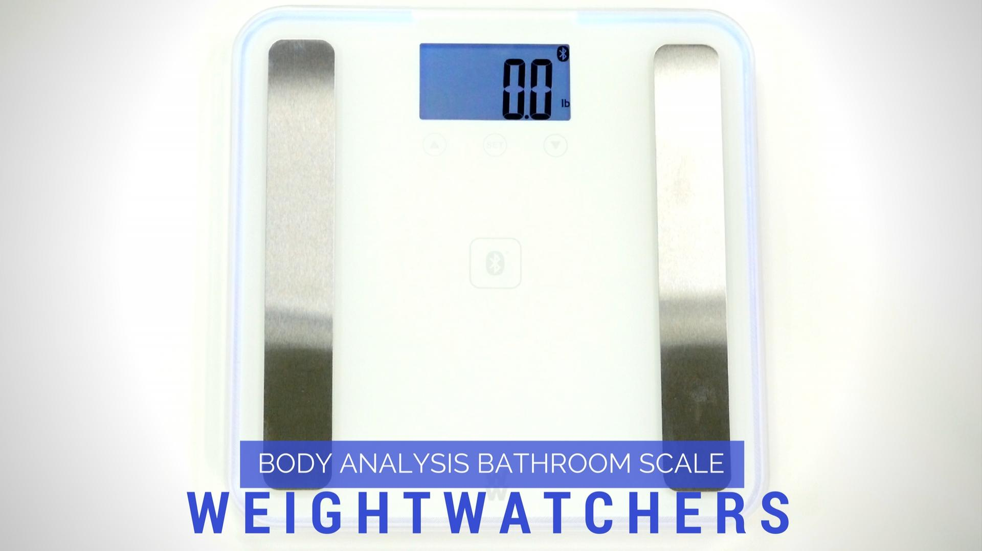 Weight Watchers Body Analysis Bathroom Scale