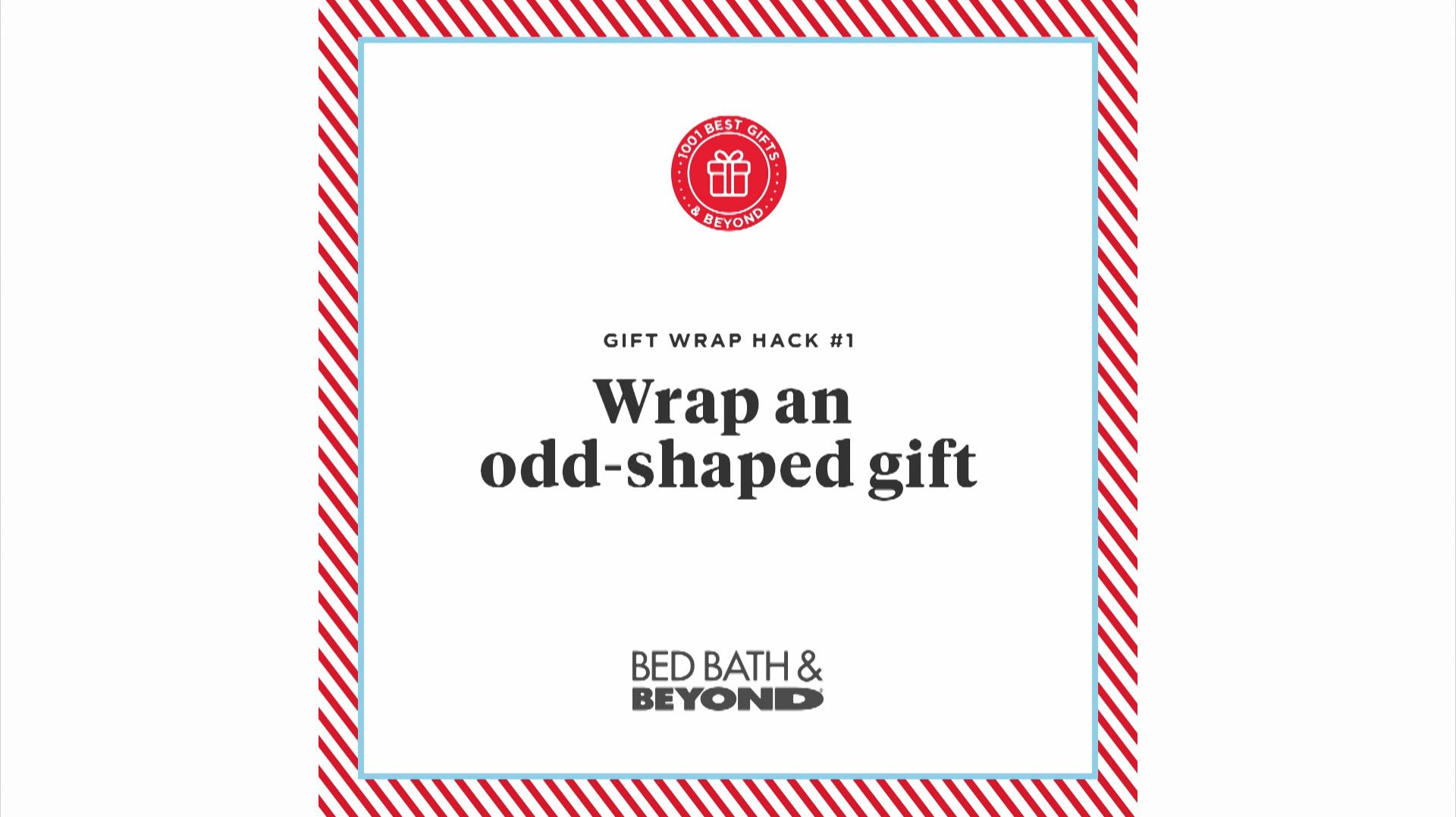 Wrap an Odd-Shaped Gift