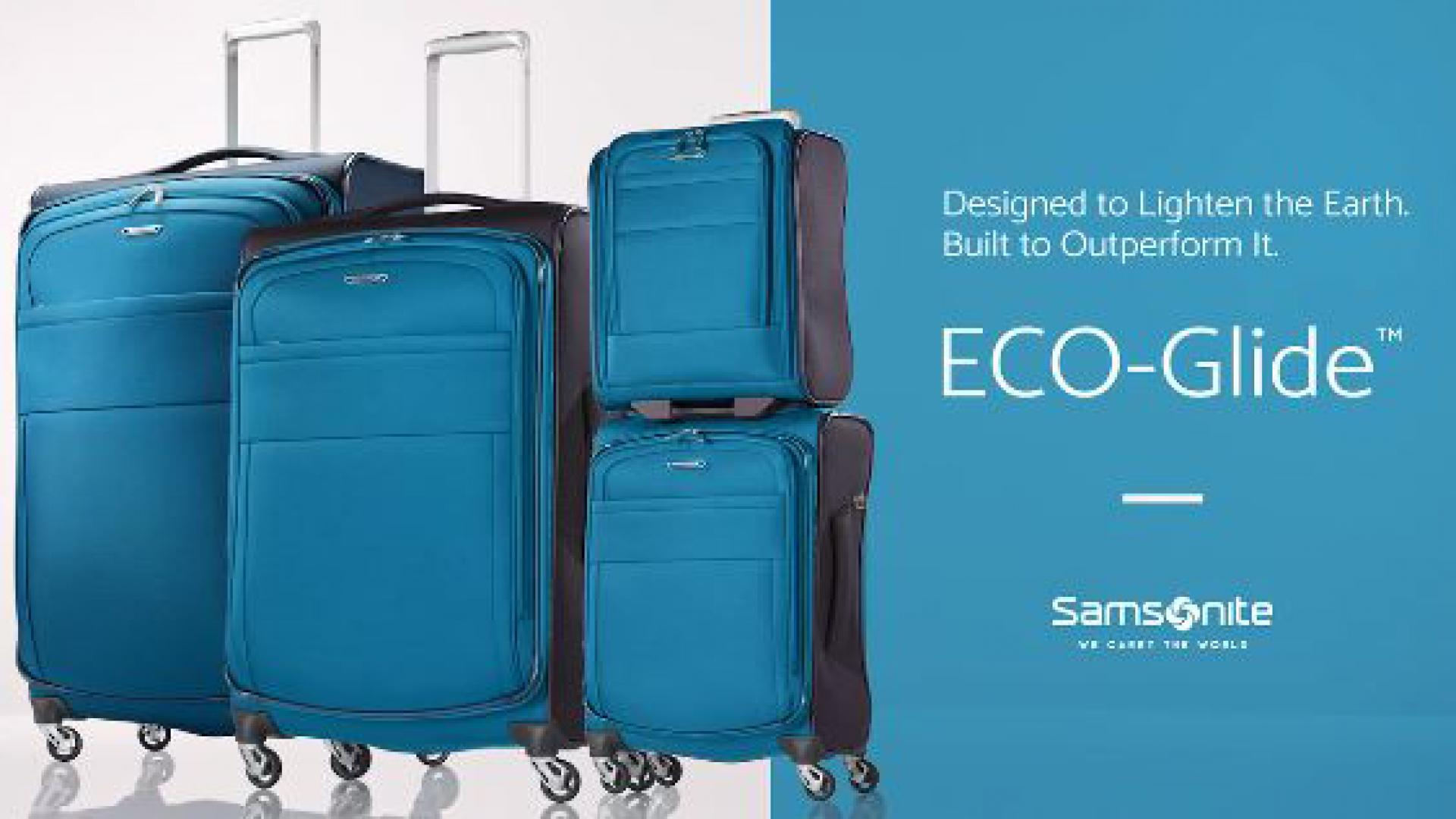 Samsonite EcoGlide Luggage Collection