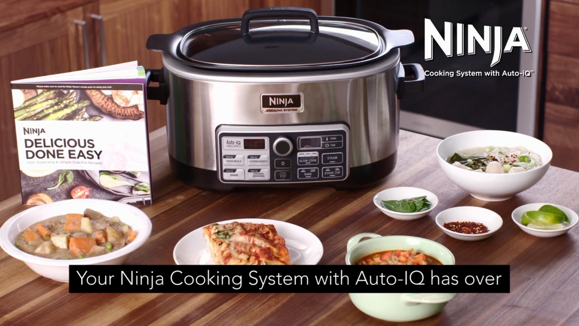Ninja Cooking System with Auto-IQ