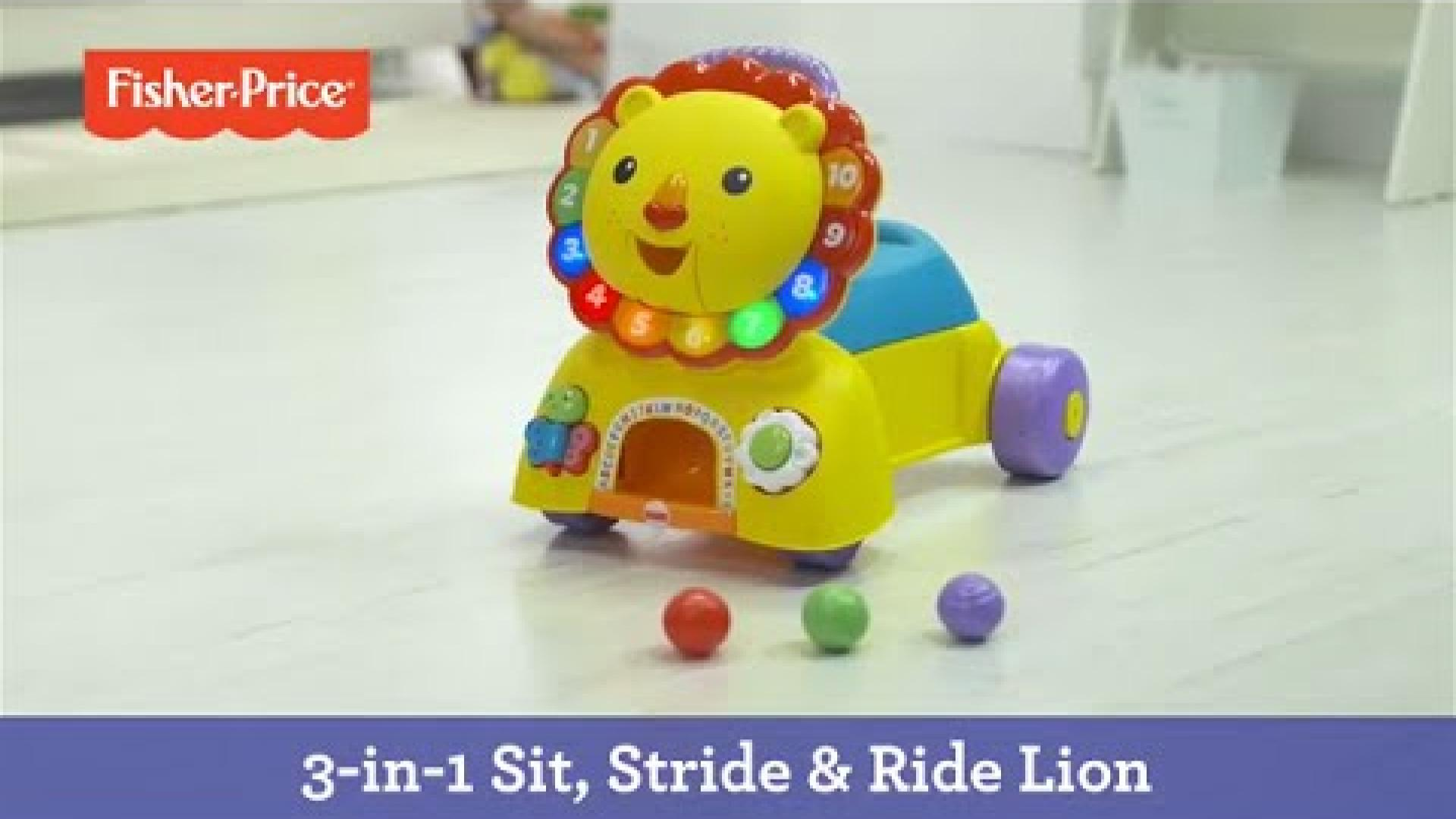 3-in-1 Sit, Stride & Ride Lion | Fisher-Price