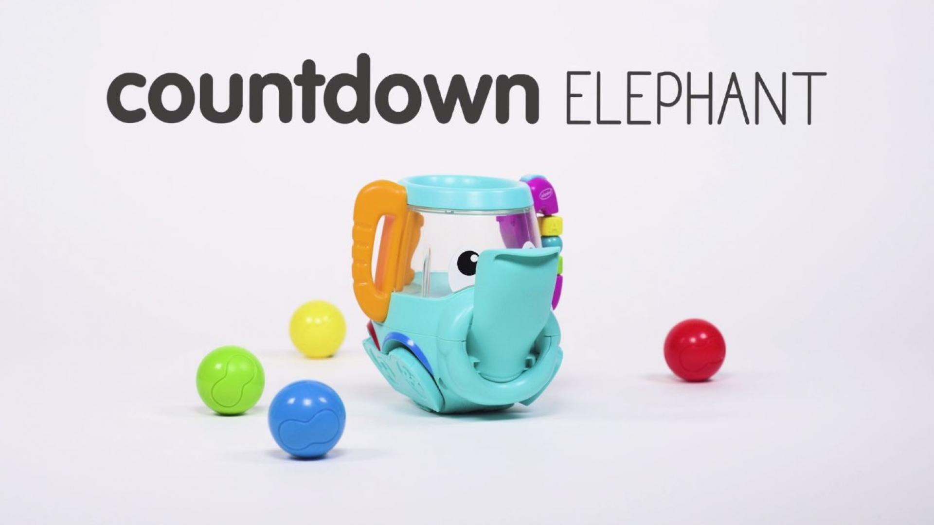 Countdown Elephant - Infantino Noodling Collection