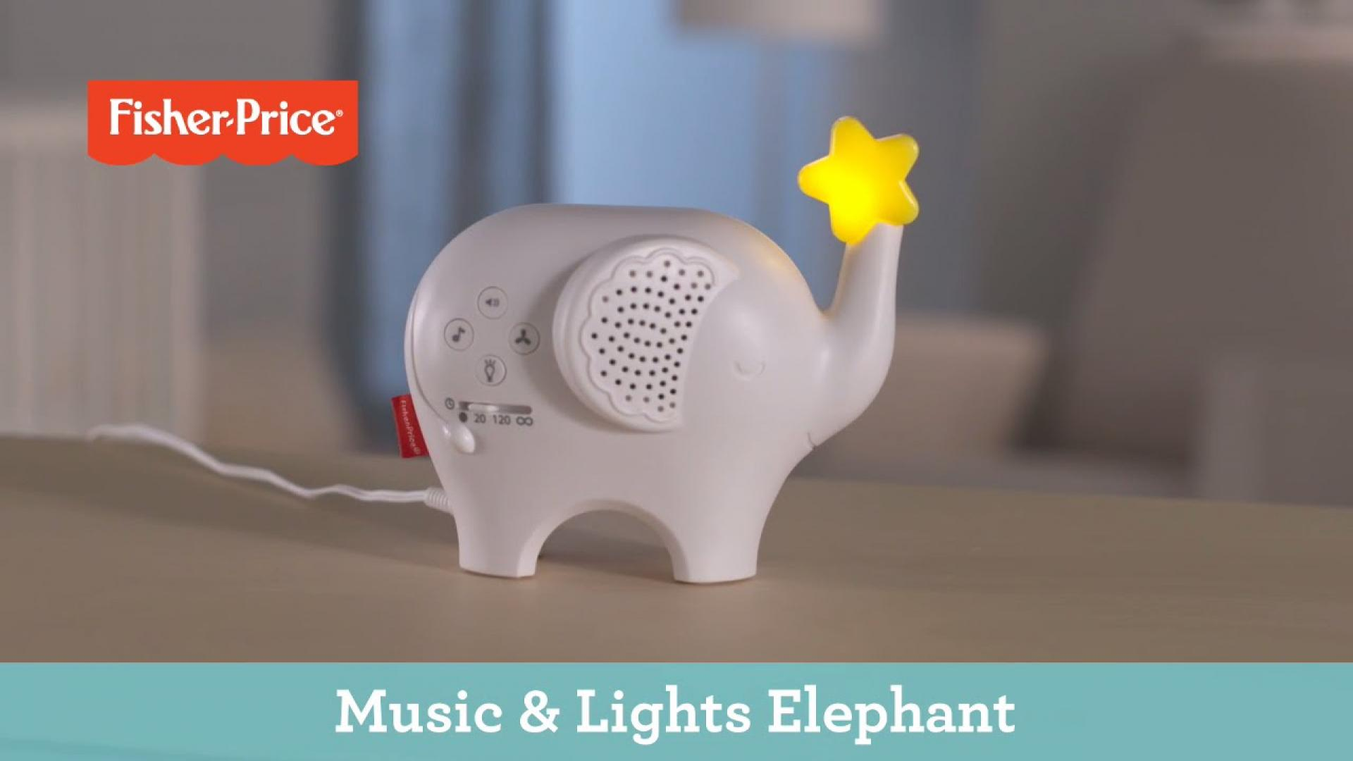 Music & Lights Elephant | Fisher-Price