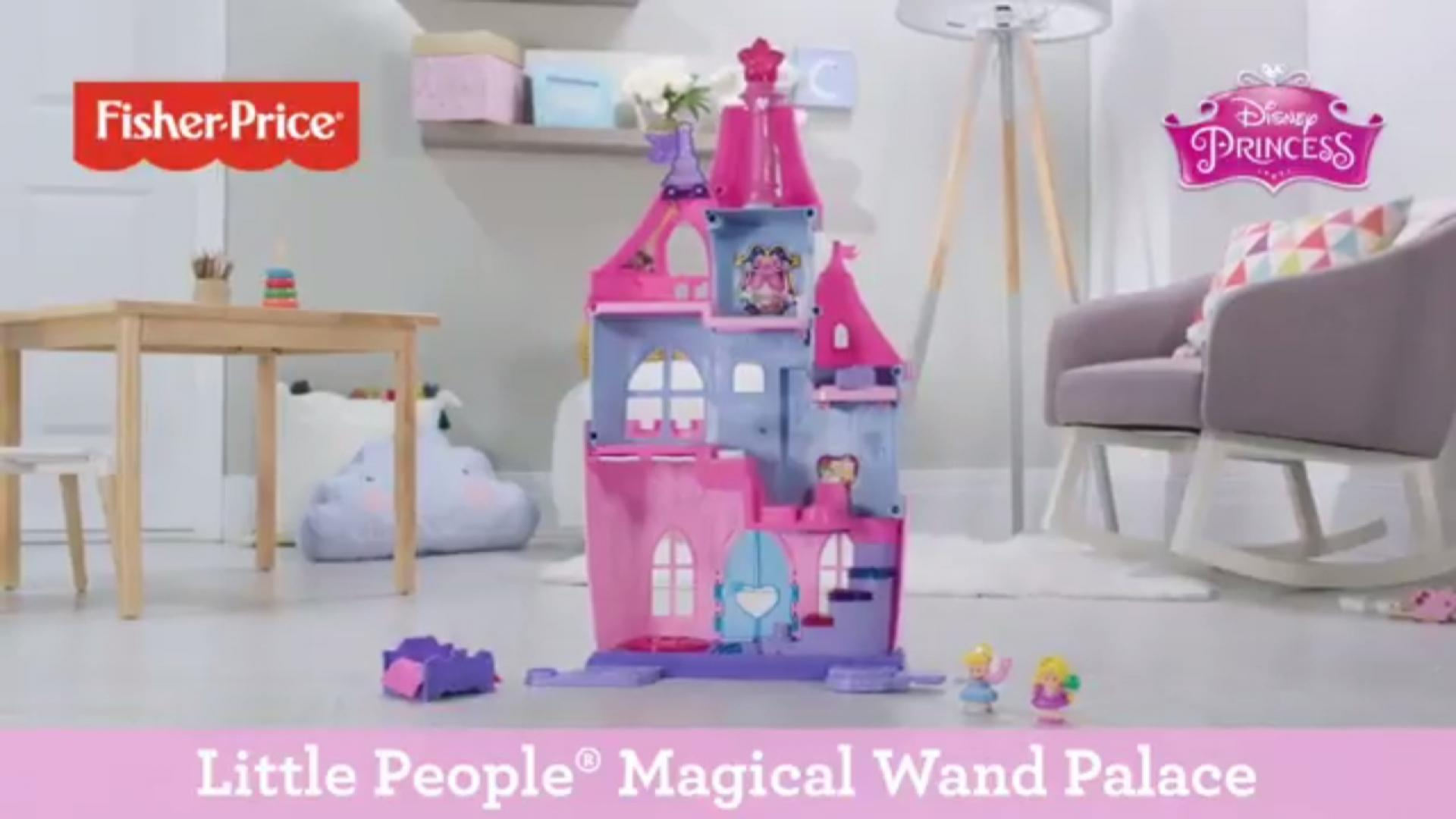 Disney Princess Magical Wand Palace by Little People® | Fisher-Price