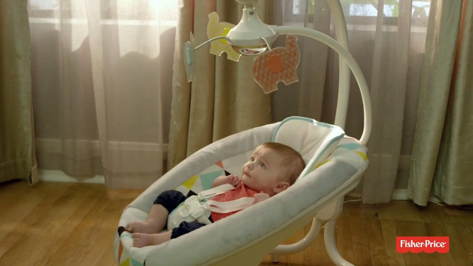 See the Fisher-Price® Revolve Swing in action! | Fisher-Price