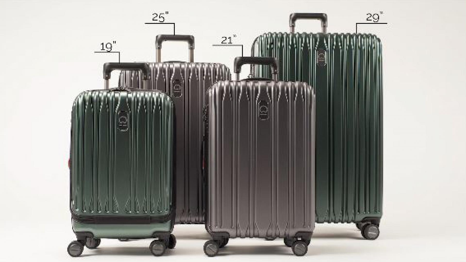 Delsey Paris Chromium Lite Luggage