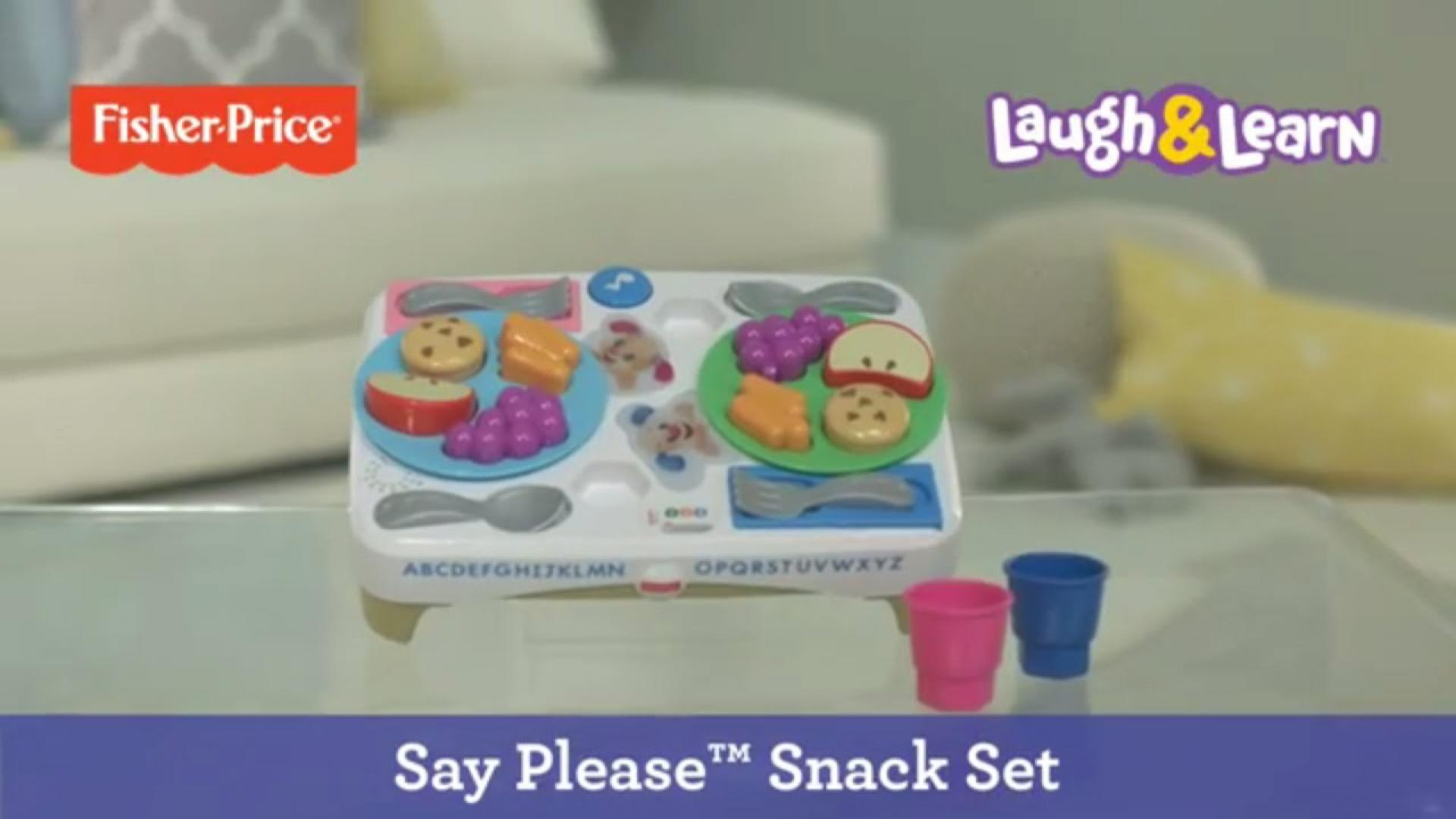 Laugh & Learn® Say Please™ Snack Set | Fisher-Price