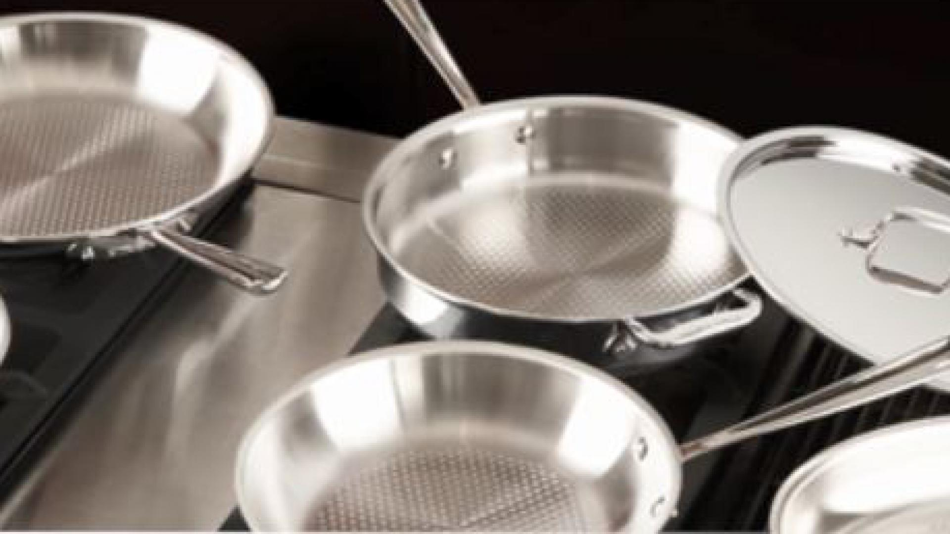 All-Clad D3 Armor Stainless Steel Fry Pan