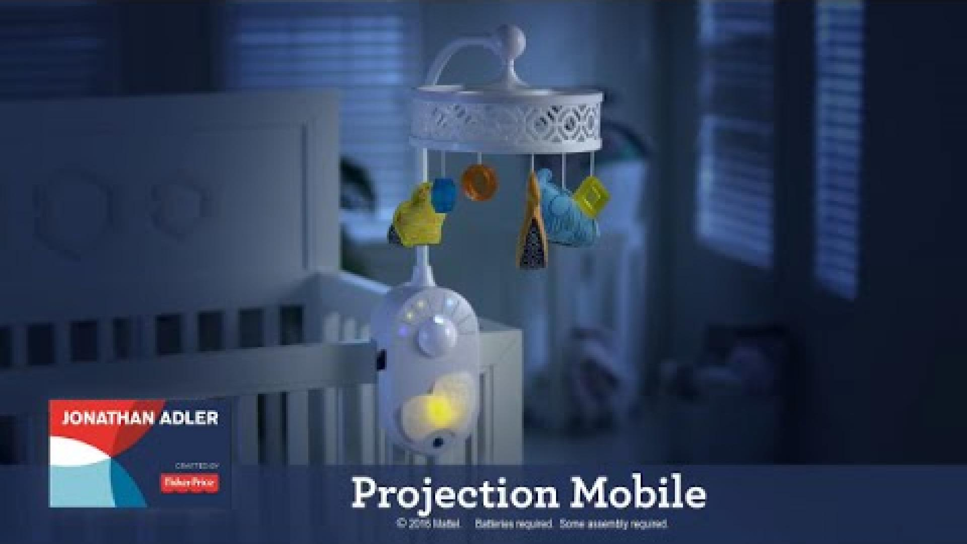 Projection Mobile designed by Jonathan Adler | Fisher-Price