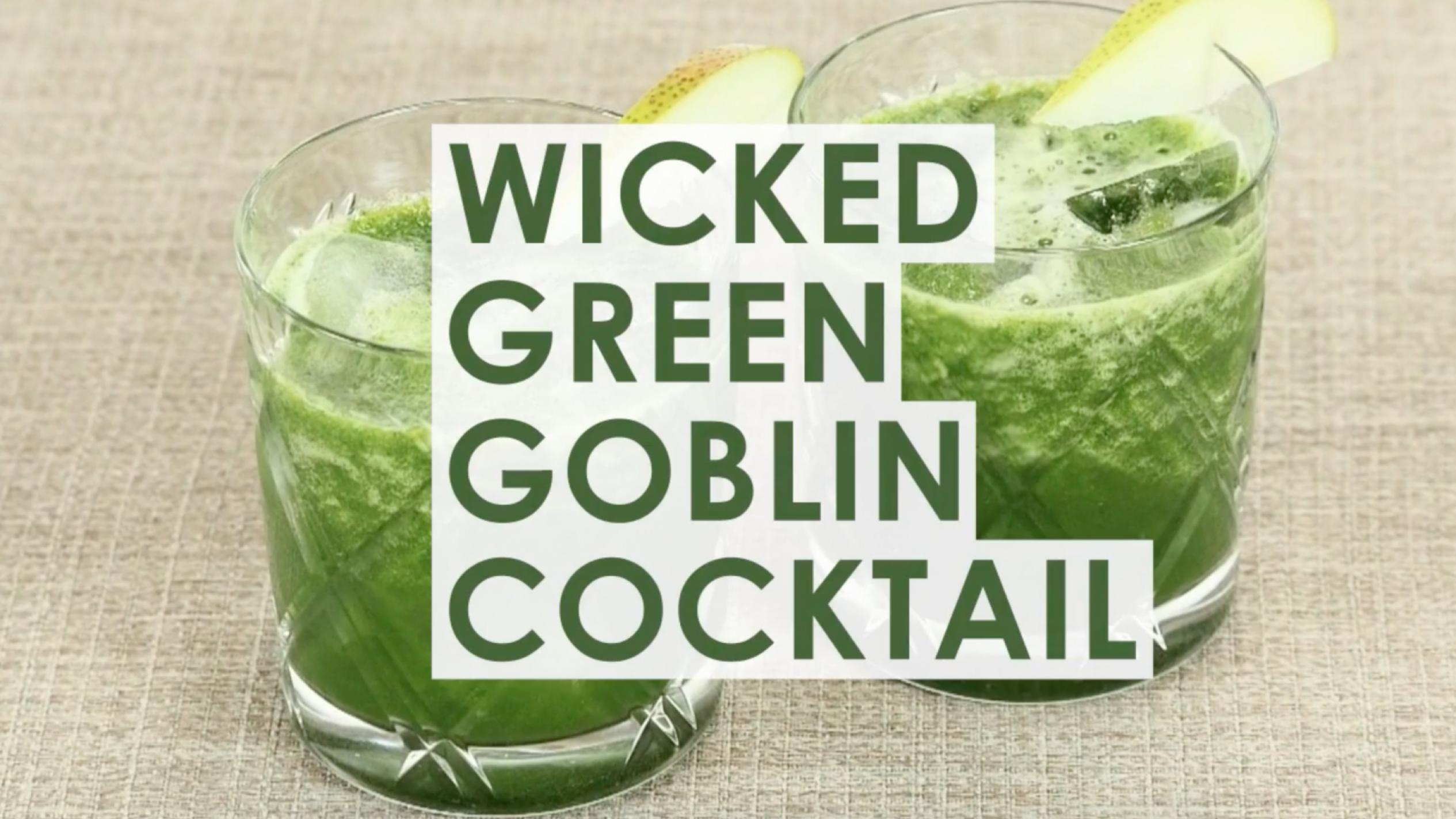 Wicked Green Goblin Cocktail