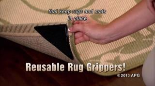 Watch The Video For Ruggies Trade Amazing Reusable Rug Grippers Set Of 8