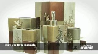 Beautiful Bathroom Ensembles lancaster bath ensemble - bed bath & beyond