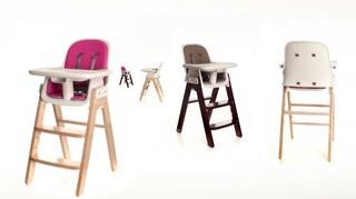 Amazing ... High Chair In Taupe/Walnut. ▷