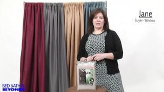 Watch The Video For Emery Rod Pocket Insulated Total Blackouttrade Window Curtain Panel