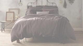 vintage linen duvet cover
