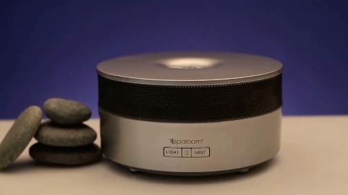 SpaRoom AromaHarmony Ultrasonic Diffusing Mister and Speaker
