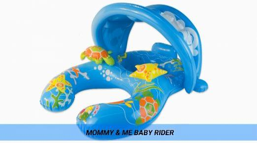 Mommy and Me Baby Rider Pool Float