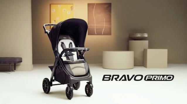Chicco Bravo Primo Trio Travel System in Alto