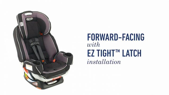 Graco® 4Ever™ Extend2Fit™ Platinum All-in-One Convertible Car Seat ...