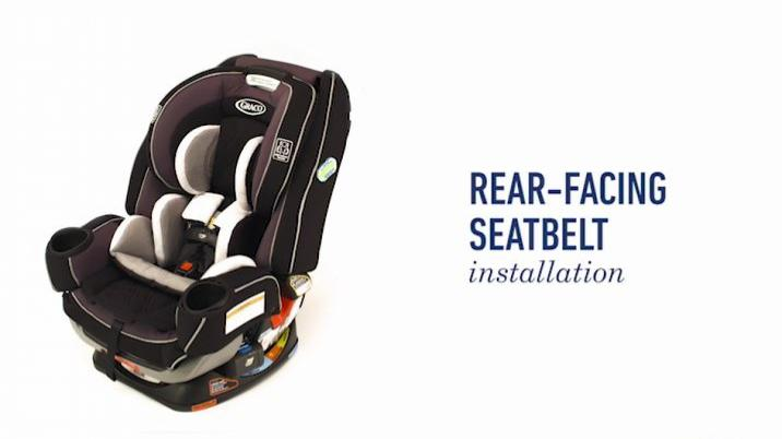 Graco Extend2Fit Platinum Convertible Car Seat in Mave