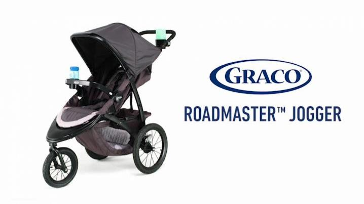 Graco RoadMaster Jogger Travel System in Hudson Green