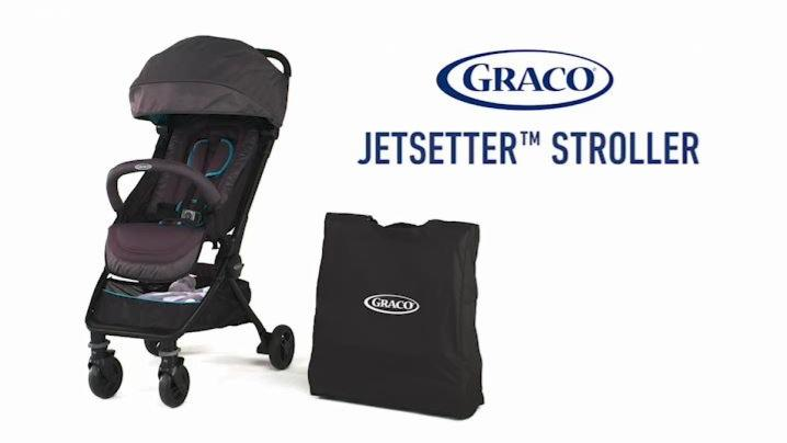 Graco Jetsetter Ultra Compact Stroller in Anson