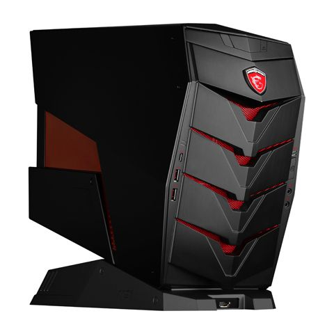 MSI Aegis X-001BUS Supports Intel 6th Gen CPU (including K series processors) Intel Z170 Supports up to a two-slot design of graphics card up to a NVIDIA Geforce GTX 1080 (not Included) 1 x HDMI Barebone System