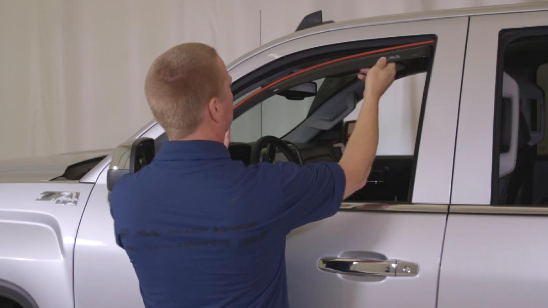 AVS In-Channel Ventvisor installation video A step by step tutorial on how to install the AVS In-Channel Ventvisor®.