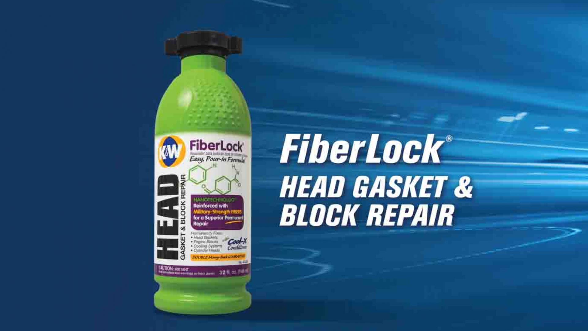 How to Use K&W FiberLock Head Gasket & Block Repair Tips about detecting a Cracked Head Gasket and how to use K&W® FiberLock® to fix it.