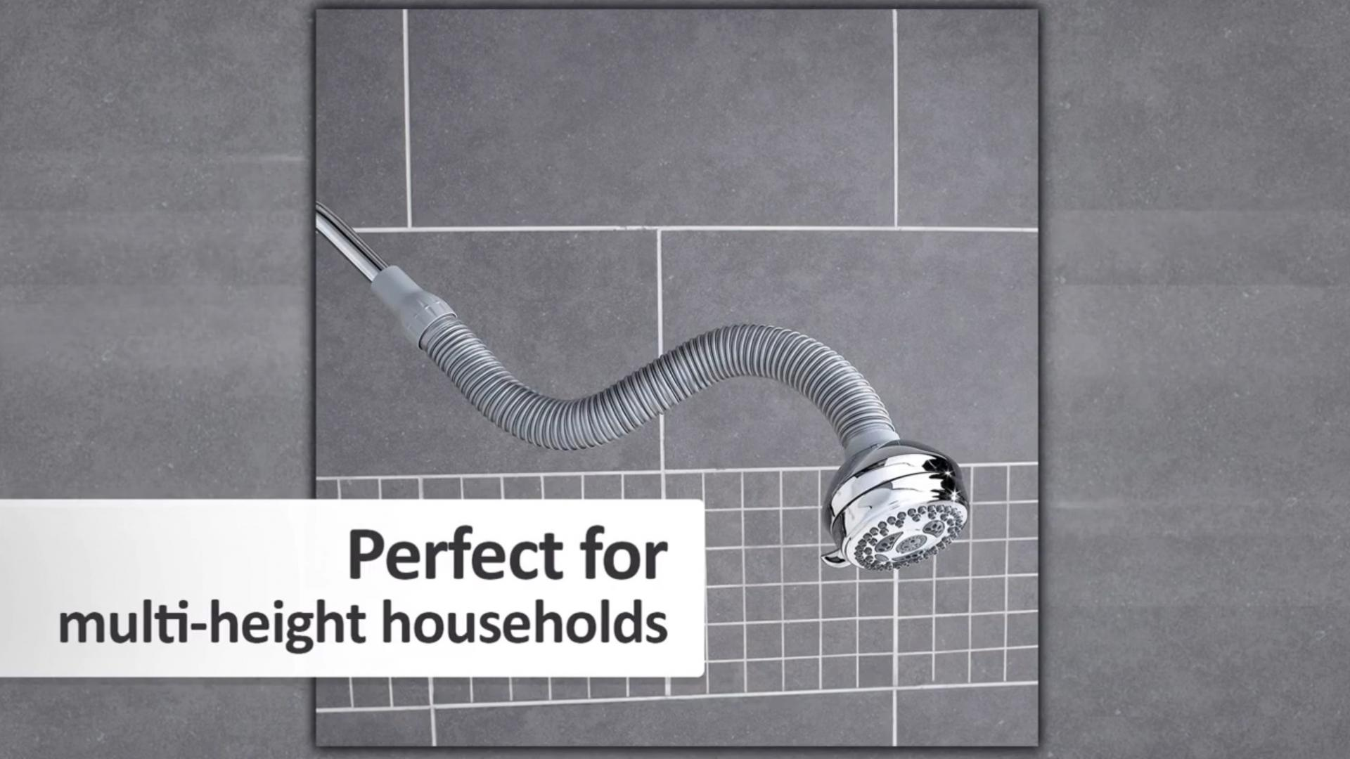 Waterpik PowerSpray and FlexNeck Showerhead