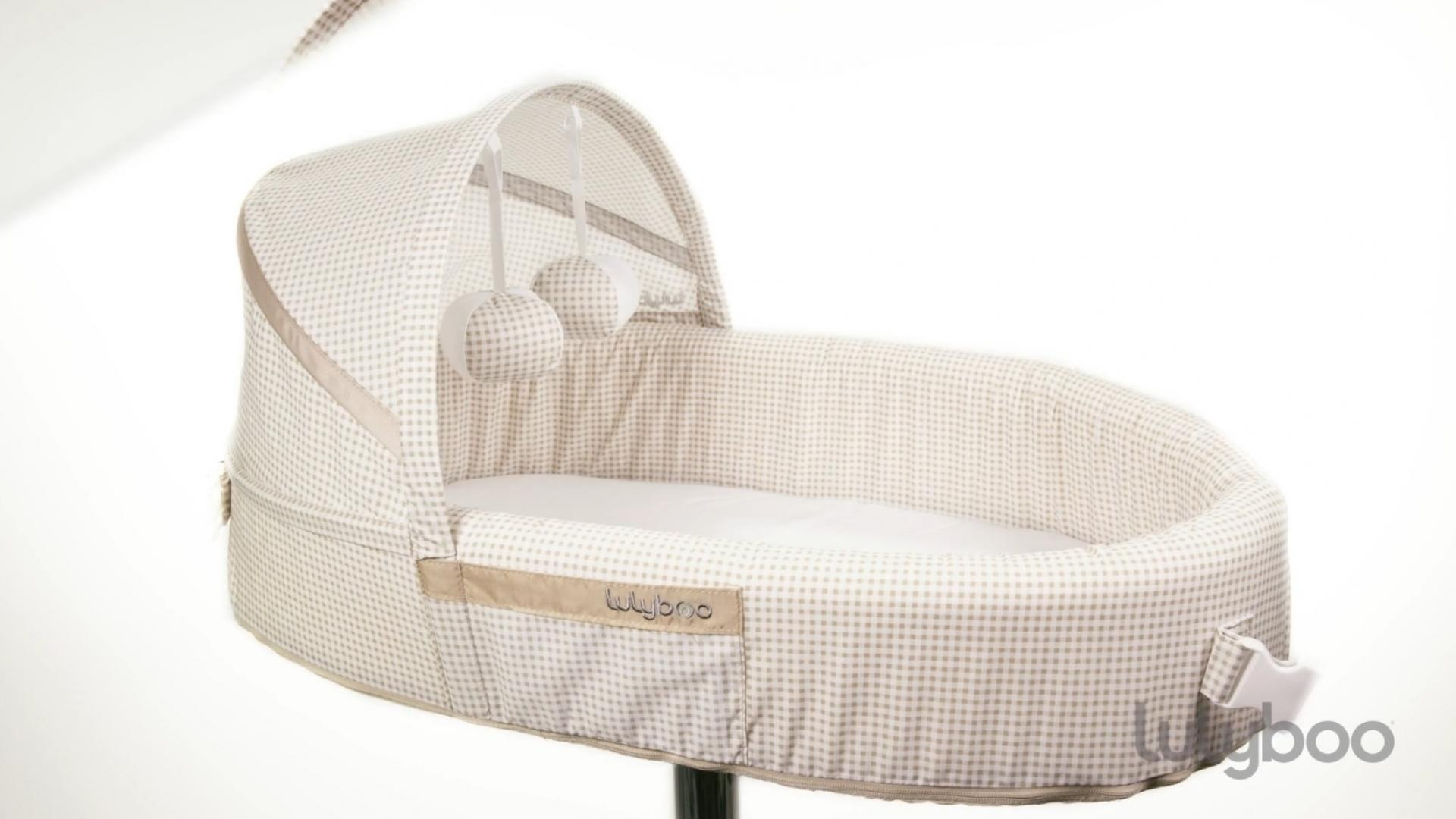 Lulyboo® Baby Bassinet to-go Travel Bed